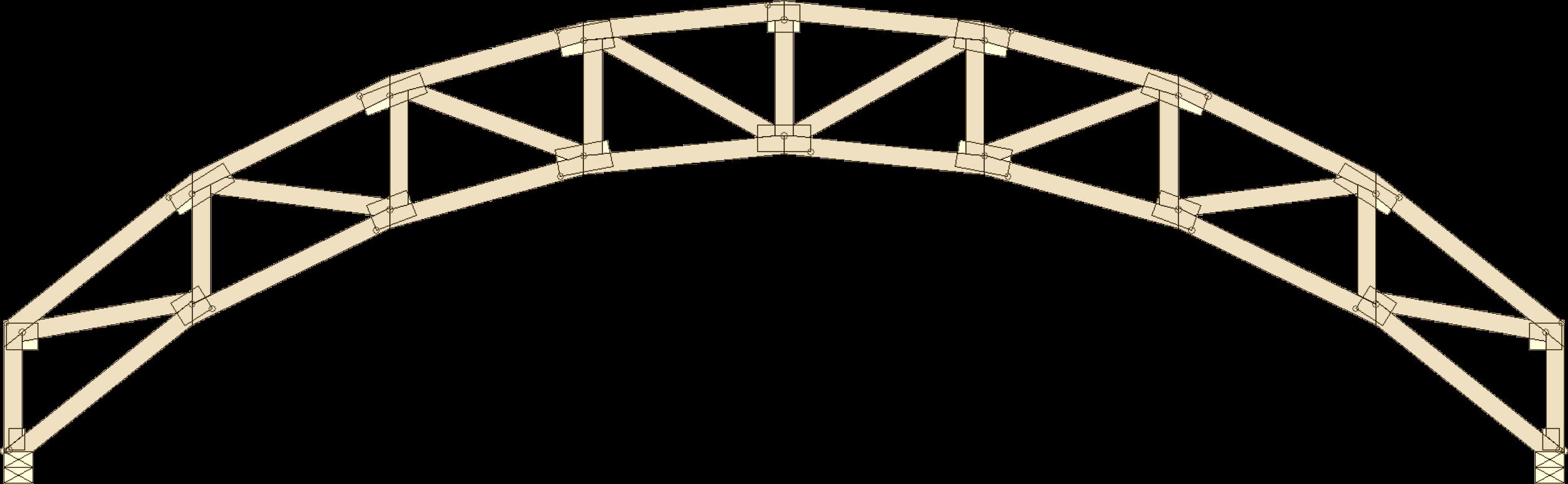 Pin scissor trusses on pinterest for Scissor roof truss prices