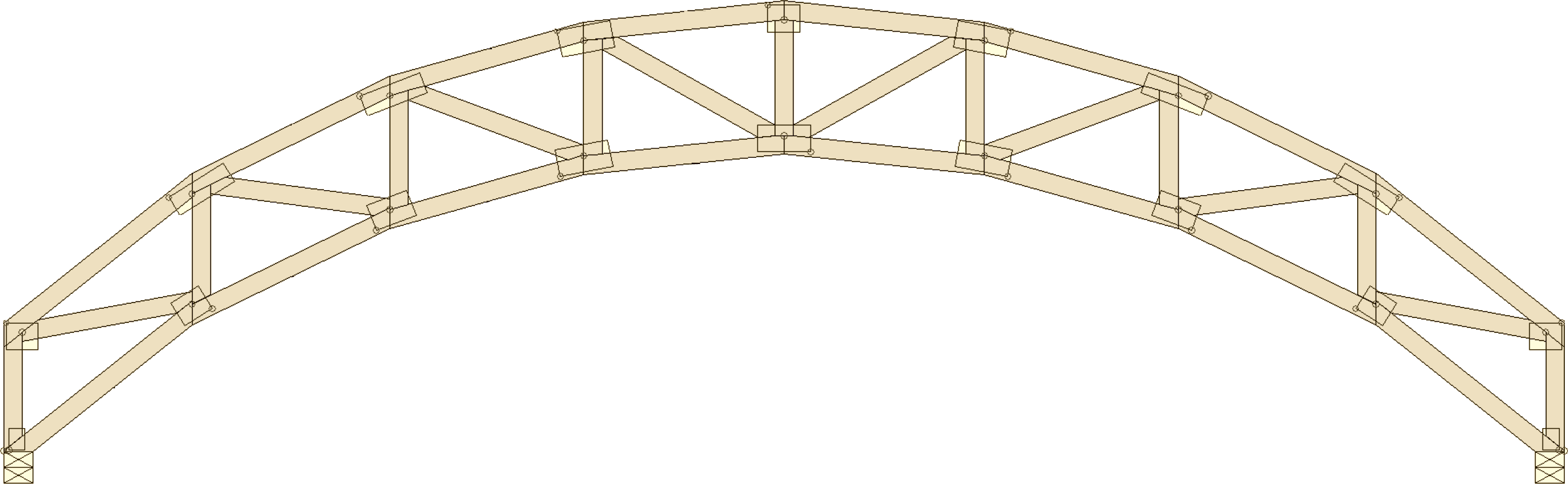 Truss Types on Gothic Arch Greenhouse Plans
