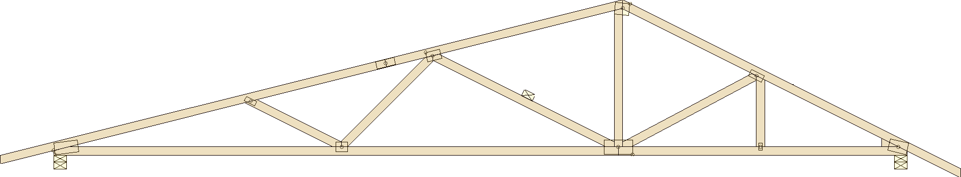 Truss types prairie truss for Double hip roof design