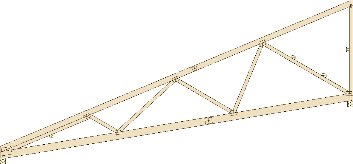 truss design A truss designer designs and creates layouts for roofs and floors for consumers, and generally works with architects and engineers to discuss whether new designs are feasible.